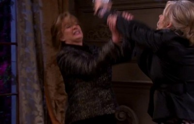 Marlena and Kristen fighting