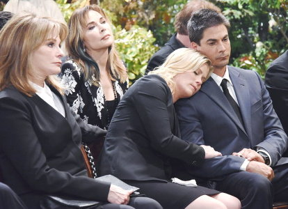 Marlena, Kate, Sami and Lucas