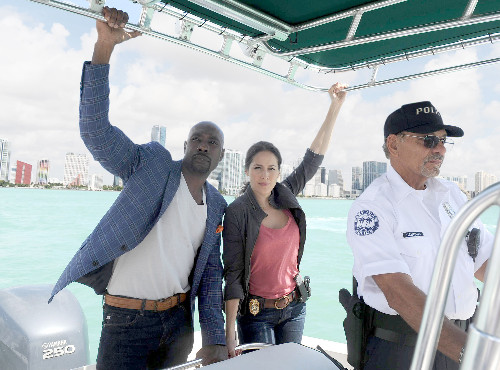 Rosewoods Morris Chestnut and Jaina Lee Ortiz