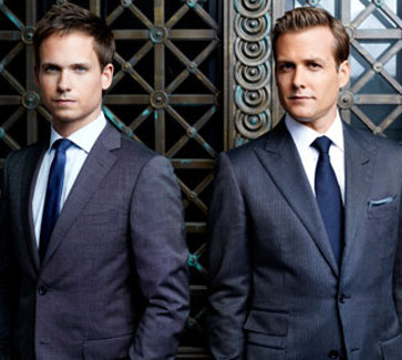 Patrick Adams and Gabriel Macht of Suits