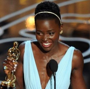 Lupita Nyong'o won the Oscar in 2014