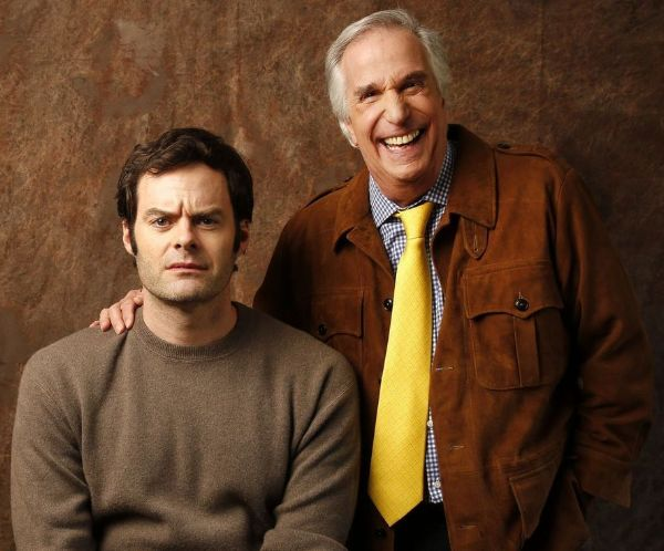 Barry's Bill Hader and Henry Winkler