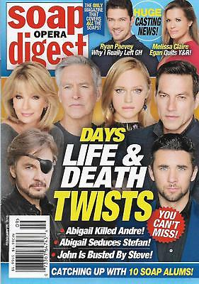 Days of Our Lives SOD cover