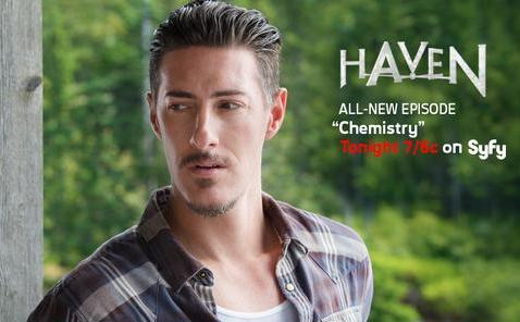 "Duke on ""Haven"" promo pic"