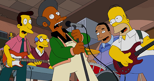 Homer's cover band