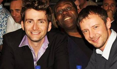 David Tennant and John Simms