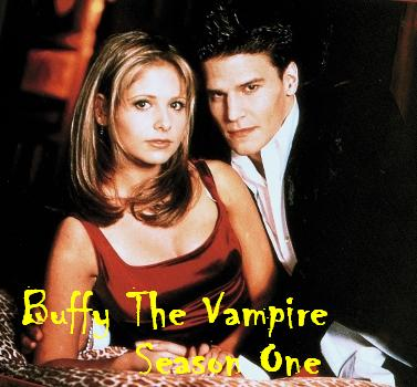 Buffy Season One picture of Buffy and Angel