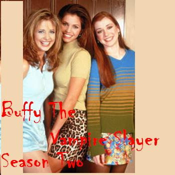 Buffy the Vampire Slayer Season Two photo of Buffy, Willow and Cordy