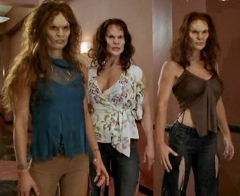 "Photo of Charmed wtiches ""hulked out"""