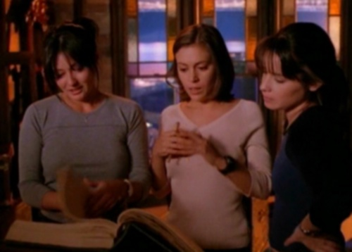 "three Charmed ones from ""Is there a Woogy in the House?"""