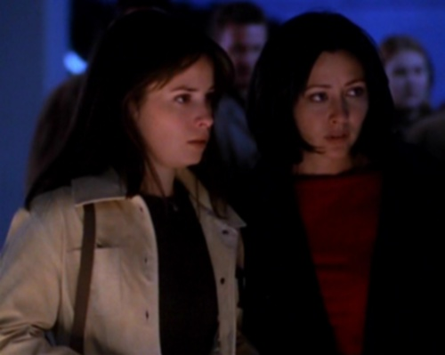 "Prue and Piper in ""The Truth Is Out There"""
