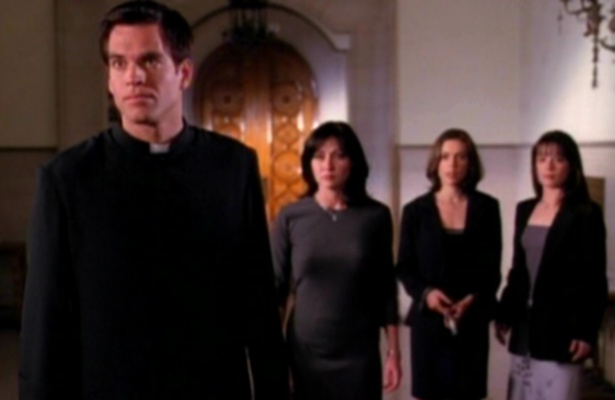 "priest and the charmed ones from ""When Bad Warlocks go Good"""