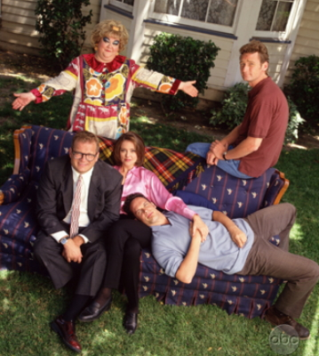 Drew Carey Show picture of cast