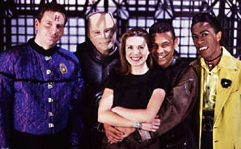 Red Dwarf cast pic