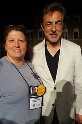 Pat and Laurie McGlone with Joe Mantegna