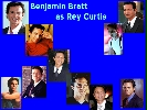 Benjamin Bratt (Rey Curtis) wallpaper