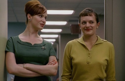 Joan and Peggy