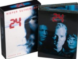 24 season 1 DVD cover