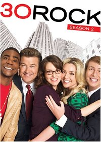 30 Rock season 2 DVD cover