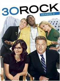 30 Rock season 3 DVD cover