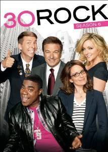 30 Rock season 6 DVD cover