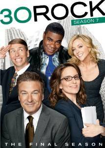 30 Rock season 7 DVD cover