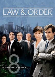 Law & Order: Season Eight DVD cover