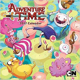 Adventure Time 2017 Wall Calendar