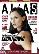 Alias magazine cover
