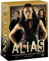Alias season 2 DVD cover