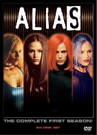 Alias season 1 DVD cover