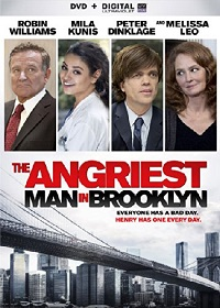 Angriest Man in Brooklyn DVD cover