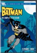 Batman Complete 5th Season DVD cover