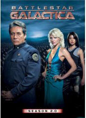Battlestar Galactica 2.0 DVD cover