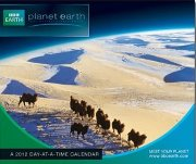 BBC Planet Earth calendar