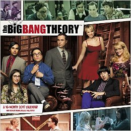 Big Bang Theory Wall Calendar 2017