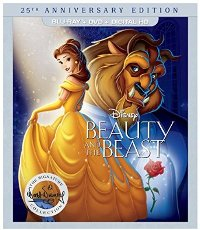 Beauty and the Beast: 25th Anniversary Edition DVD cover