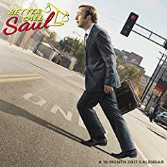 Better Call Saul 2017 Wall Calendar