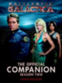Battlestar Galactica Official Companion book 2 cover