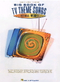 Big Book of TV Theme Songs book cover