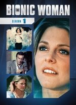 The Bionic Woman: Season 1 DVD cover