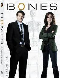 Bones Season One DVD cover