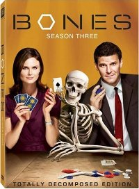 Bones Season Three DVD cover