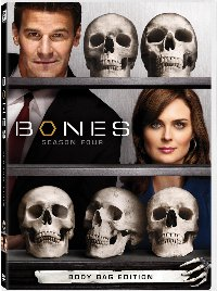 Bones Season Four DVD cover