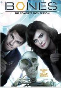 Bones The Complete Sixth Season DVD cover