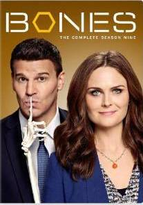 Bones The Complete Season Nine DVD cover