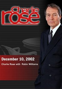 Charlie Rose with Robin Williams (December 10, 2002) DVD cover