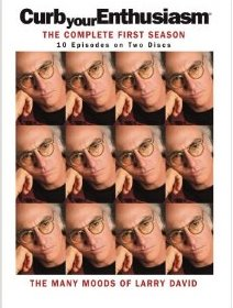 Curb Your Enthusiasm: The Complete First Season DVD cover