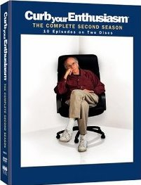 Curb Your Enthusiasm: The Complete Second Season DVD cover