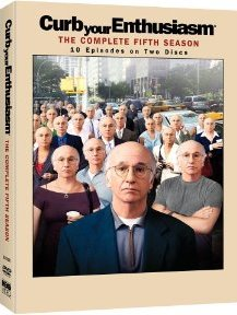 Curb Your Enthusiasm: The Complete Fifth Season DVD cover
